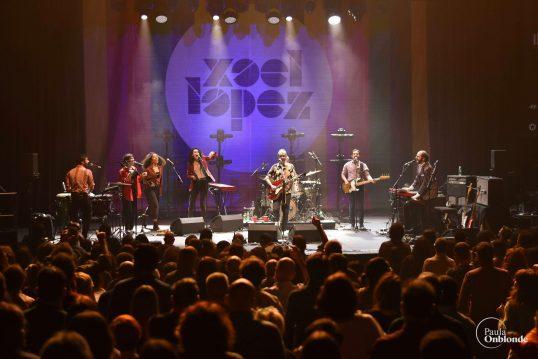Xoel López encandiló al Teatro Circo Price con un directo mimado al detalle