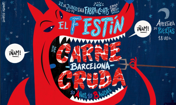 El Festín de Carne Cruda llega a Barcelona