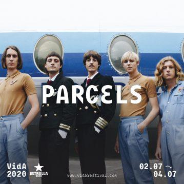 Parcels, primer cabeza de cartel para el Vida Festival 2020