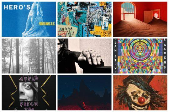 Los diez mejores discos internacionales de 2020